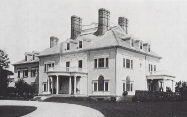 H.A.C. Taylor house, Newport, Rhode Island. McKim, Mead & White, architects, 1886, photograph from 1910