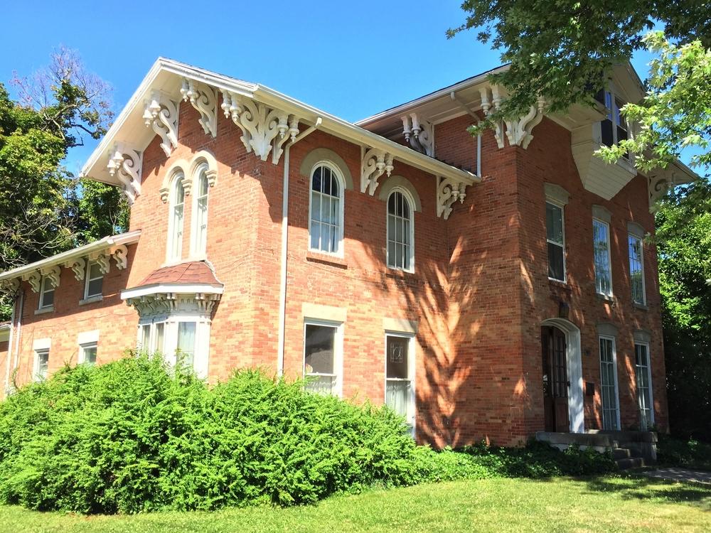 Worden-Rorick-Fechner House, 403 Toledo Street, 1852