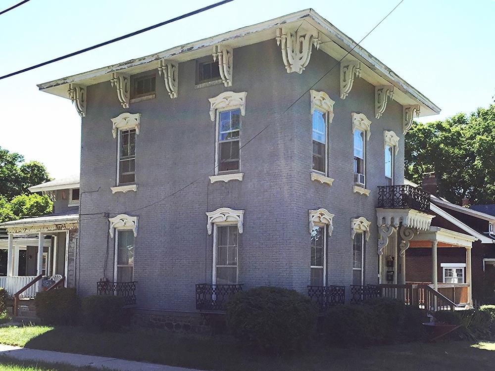 214 Front Street, c. 1853