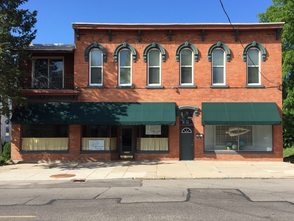 Commercial Italianate, Adrian Beauty Academy, 385 East Maumee, c. 1855