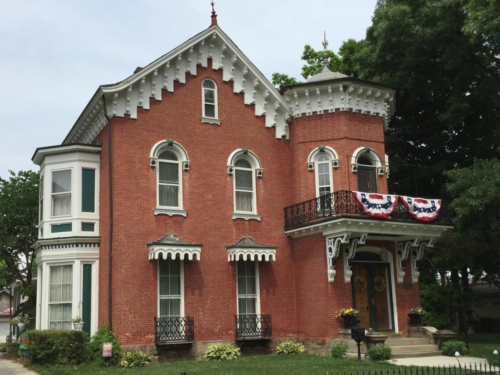 Hart-Cavallero House, 430 Dennis Street, 1856