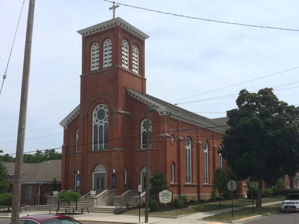 Saint Mary's Catholic Church, 320 Division Street, 1871