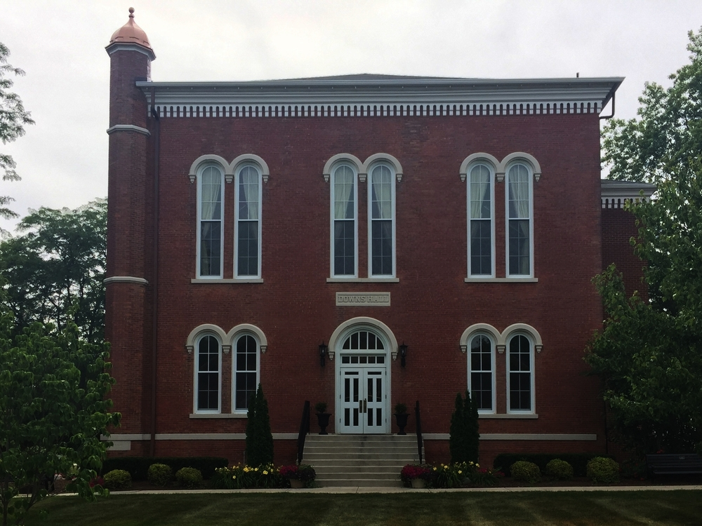 Downs Hall, Adrian College, 110 South Madison Street, 1861
