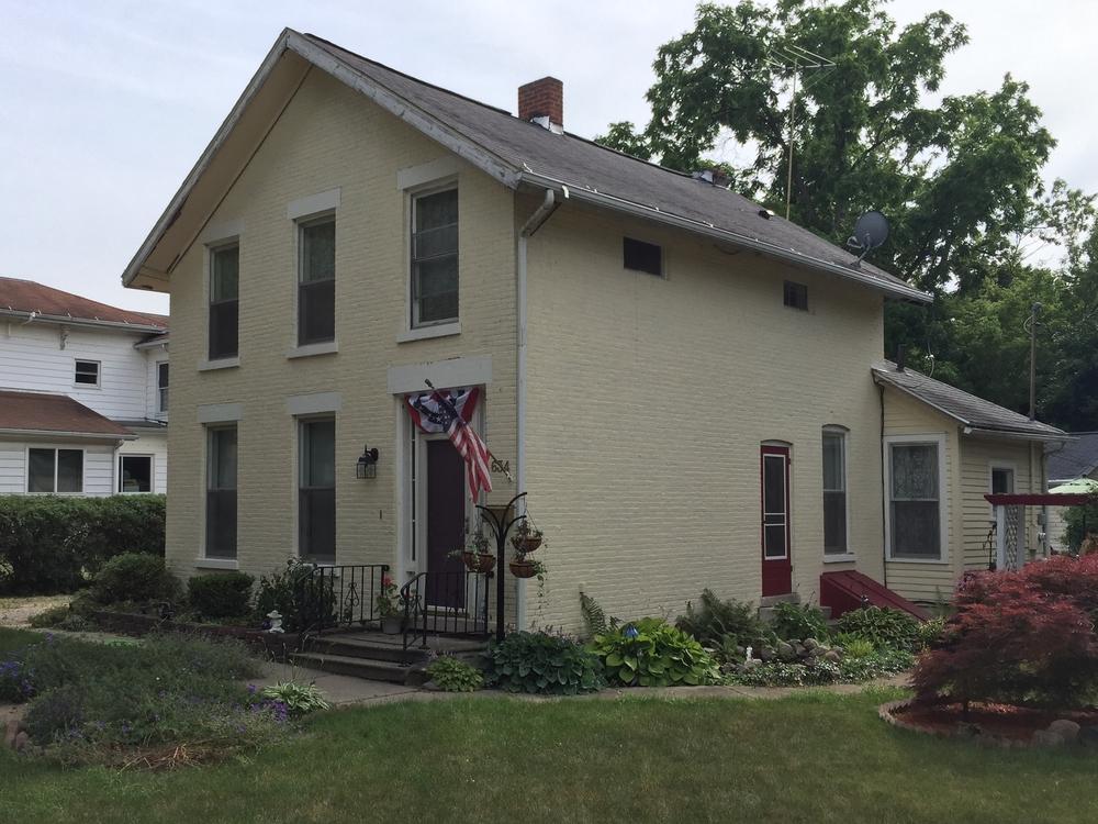 Leonard Baldwin House, 634 Dennis Street, c. 1860