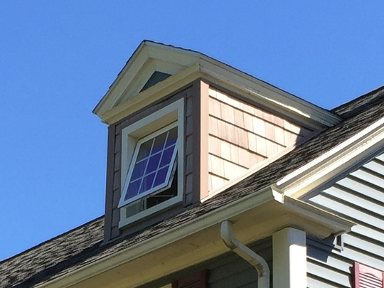 Pediment (or Gable) Dormer