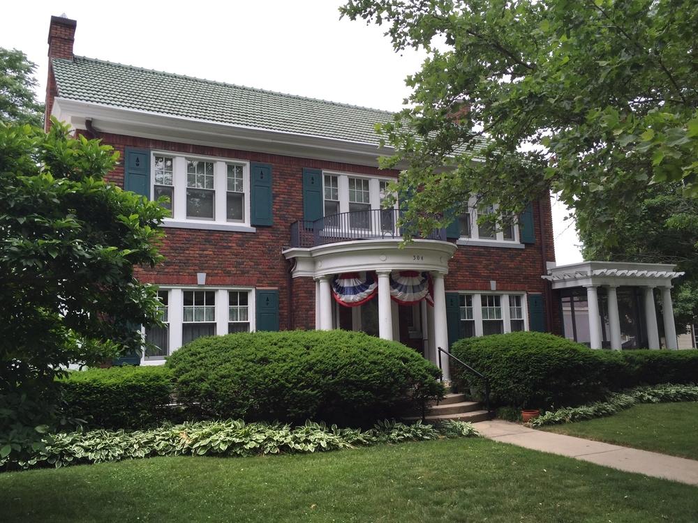 11. Mott-Lentz House 304 State Street, 1925