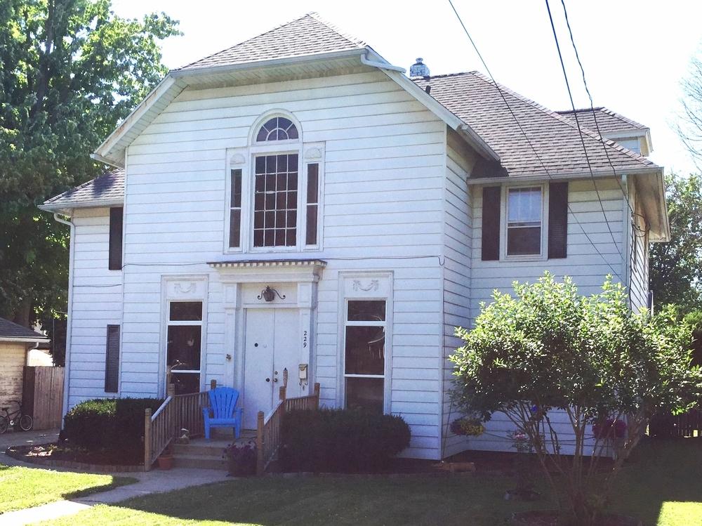 229 North Locust Street, c. 1905