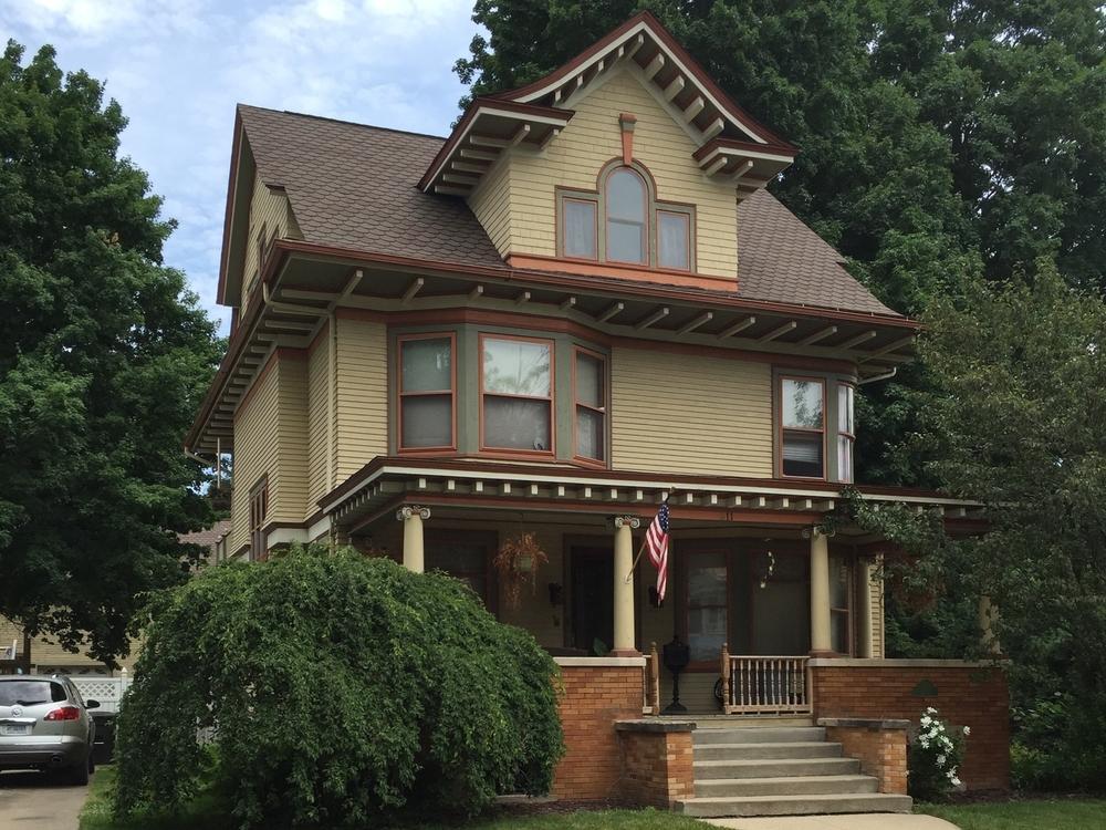 William Herbert Stevenson House, 311 Dennis Street, 1913