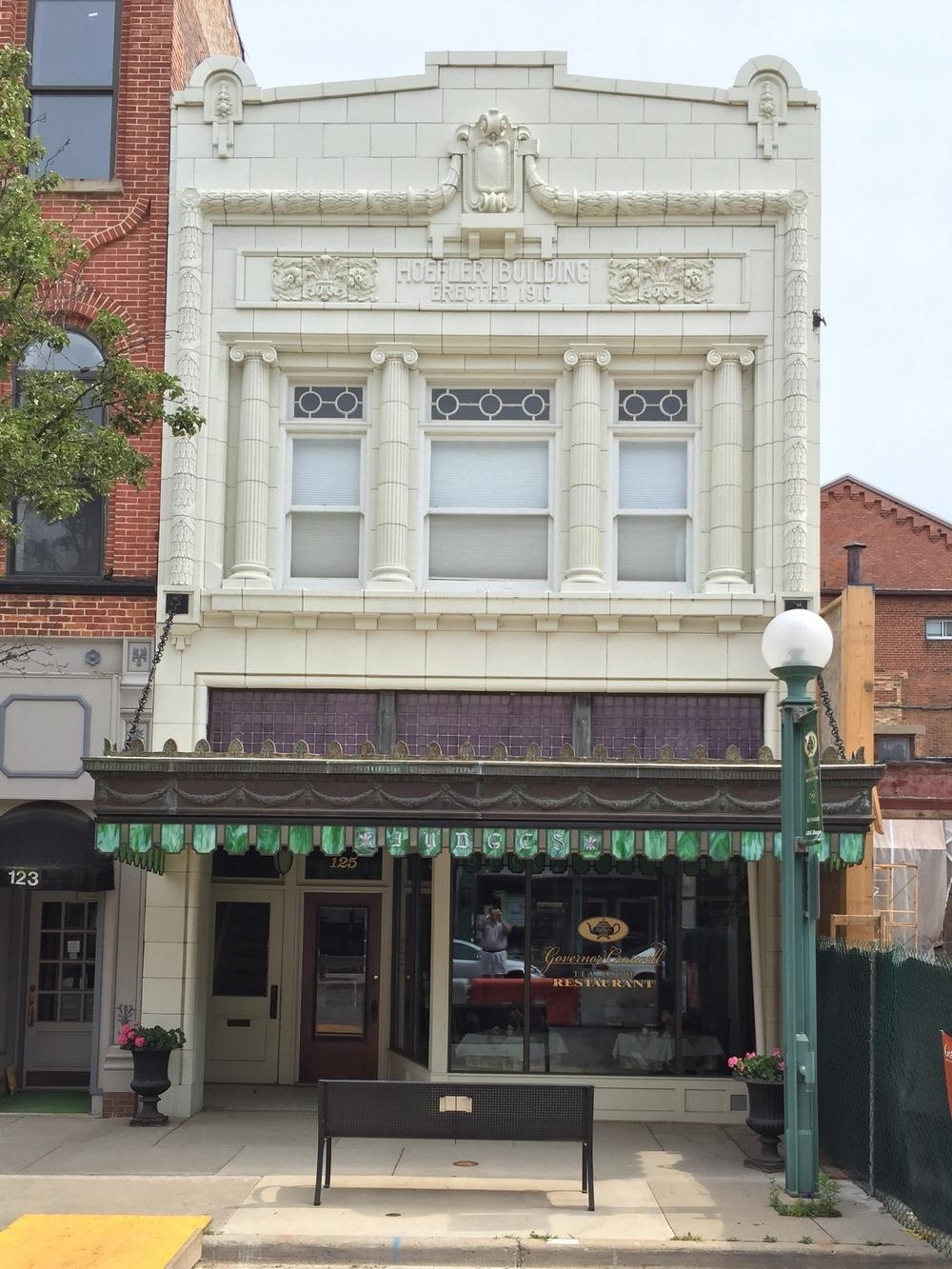 Hoefler Building, 125 East Maumee Street, 1910