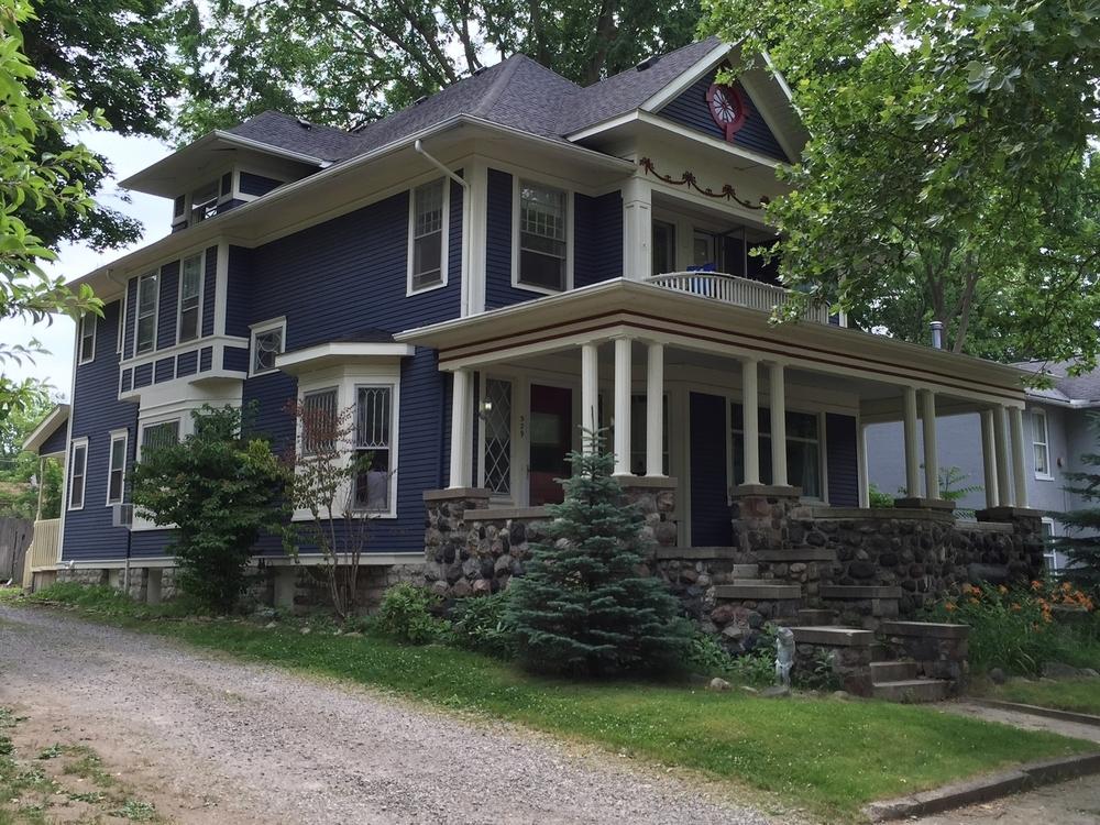 Wirth House, 529 Dennis Street, c. 1908