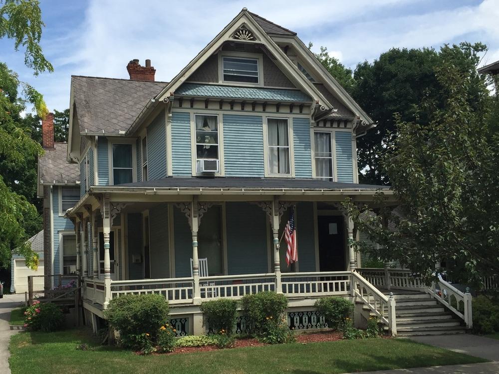 Frank Stevenson Home, 327 Dennis Street, 1894