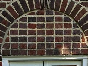 Stack Bond Brick Pattern