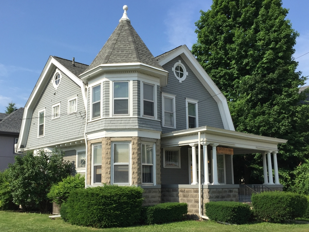 Shingle Style, Dr. E. T. Morden House, 805 West Maumee Street, c. 1905