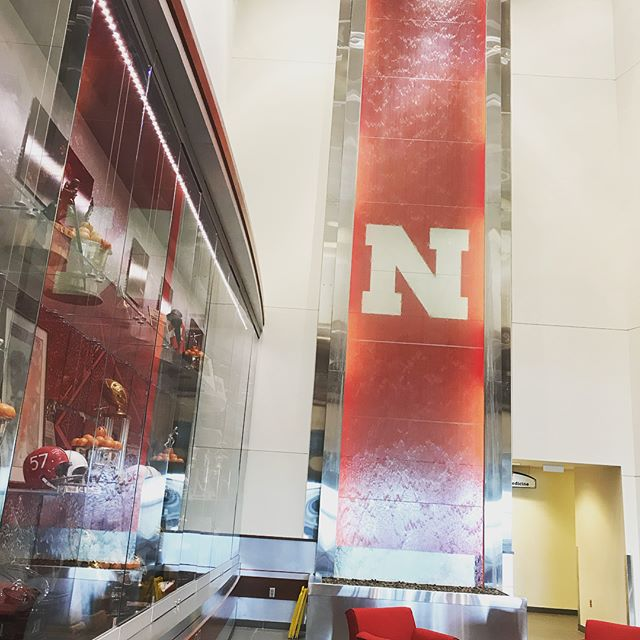 Great visit to Lincoln to meet with the wonderful folks with the @huskers. #gbr