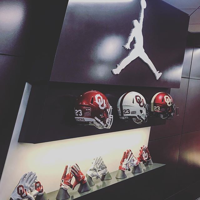 Quick trip to Norman for some great time with our friends at OU. What a beautiful football facility.
