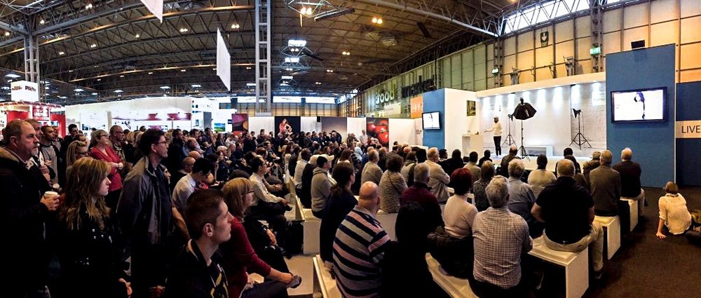 The Photography Show, NEC Birmingham UK. 2016