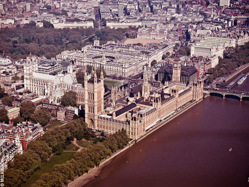 Goodyear Blimp Airship London Flight London Aerial Photography Hasselblad Jay McLaughlin Westminster Houses of Parliament