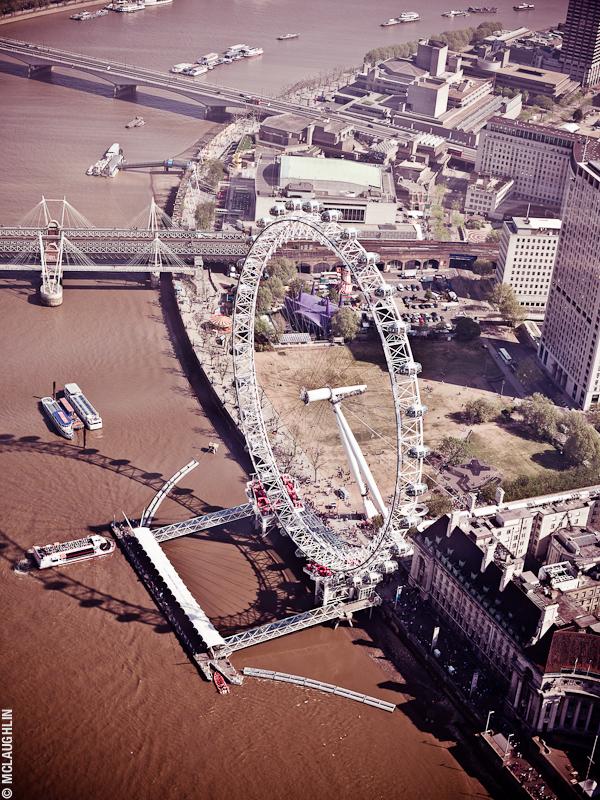 Goodyear Blimp Airship London Flight London Aerial Photography Hasselblad Jay McLaughlin London Eye