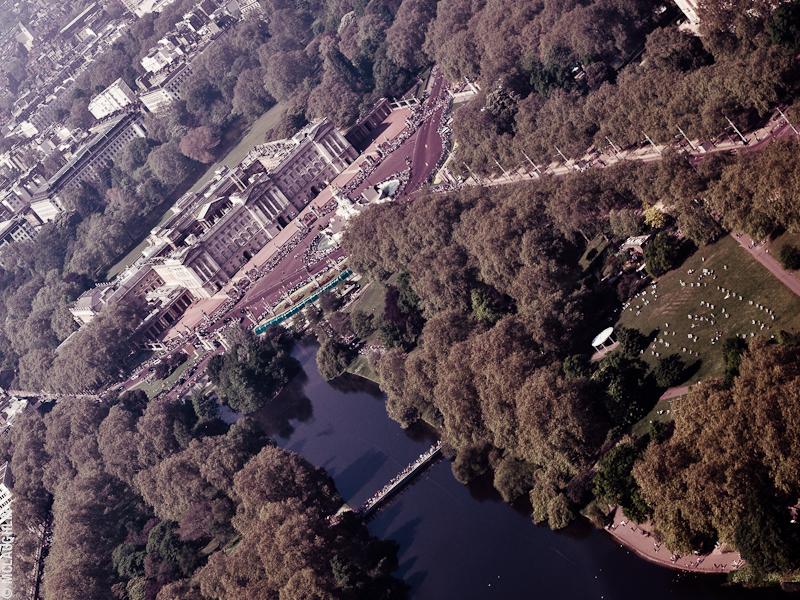 Goodyear Blimp Airship London Flight London Aerial Photography Hasselblad Jay McLaughlin Buckingham Palace