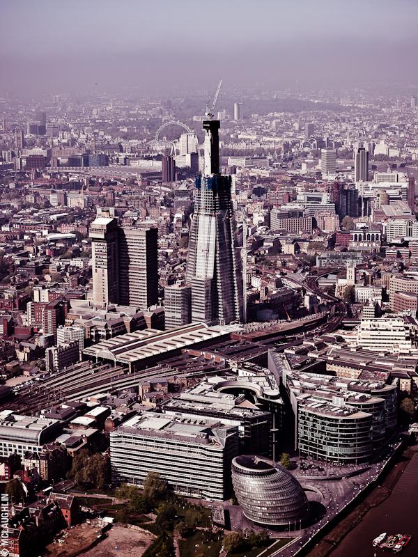Goodyear Blimp Airship London Flight London Aerial Photography Hasselblad Jay McLaughlin Shard