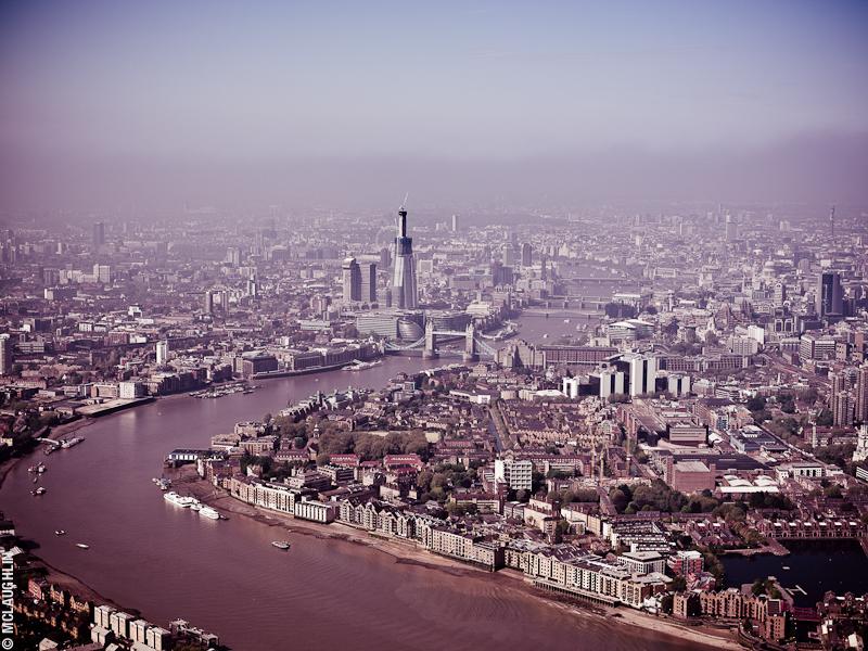 Goodyear Blimp Airship London Flight London Aerial Photography Hasselblad Jay McLaughlin