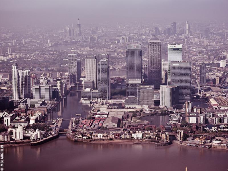 Goodyear Blimp Airship London Flight London Aerial Photography Hasselblad Jay McLaughlin Canary Wharf