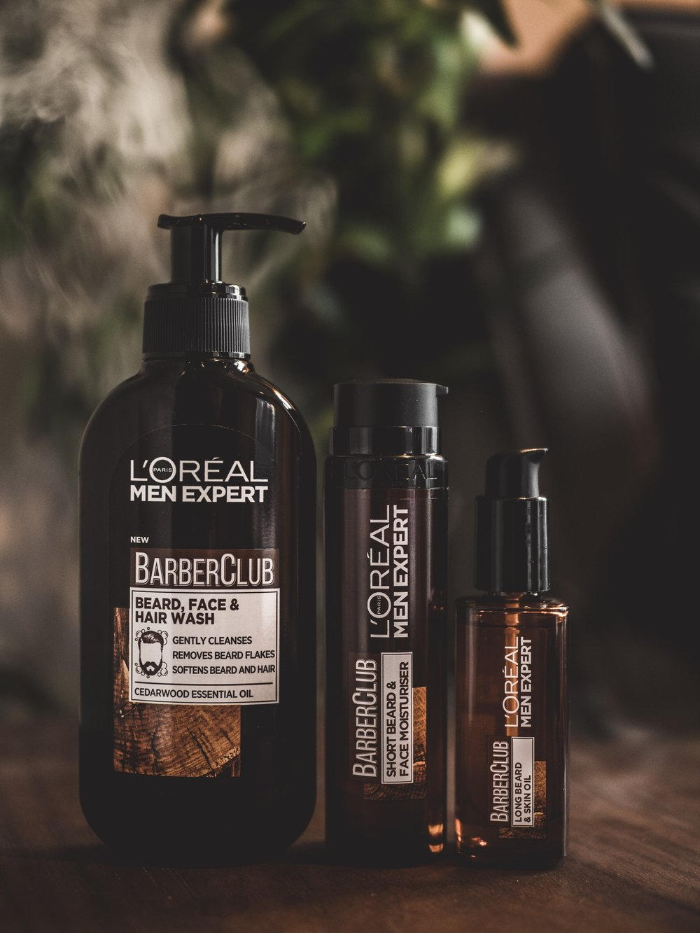 L'oreal Men Expert BarberClub Barber Club Grooming Products Beard Oil Moisturiser Face Hair Wash Short Long