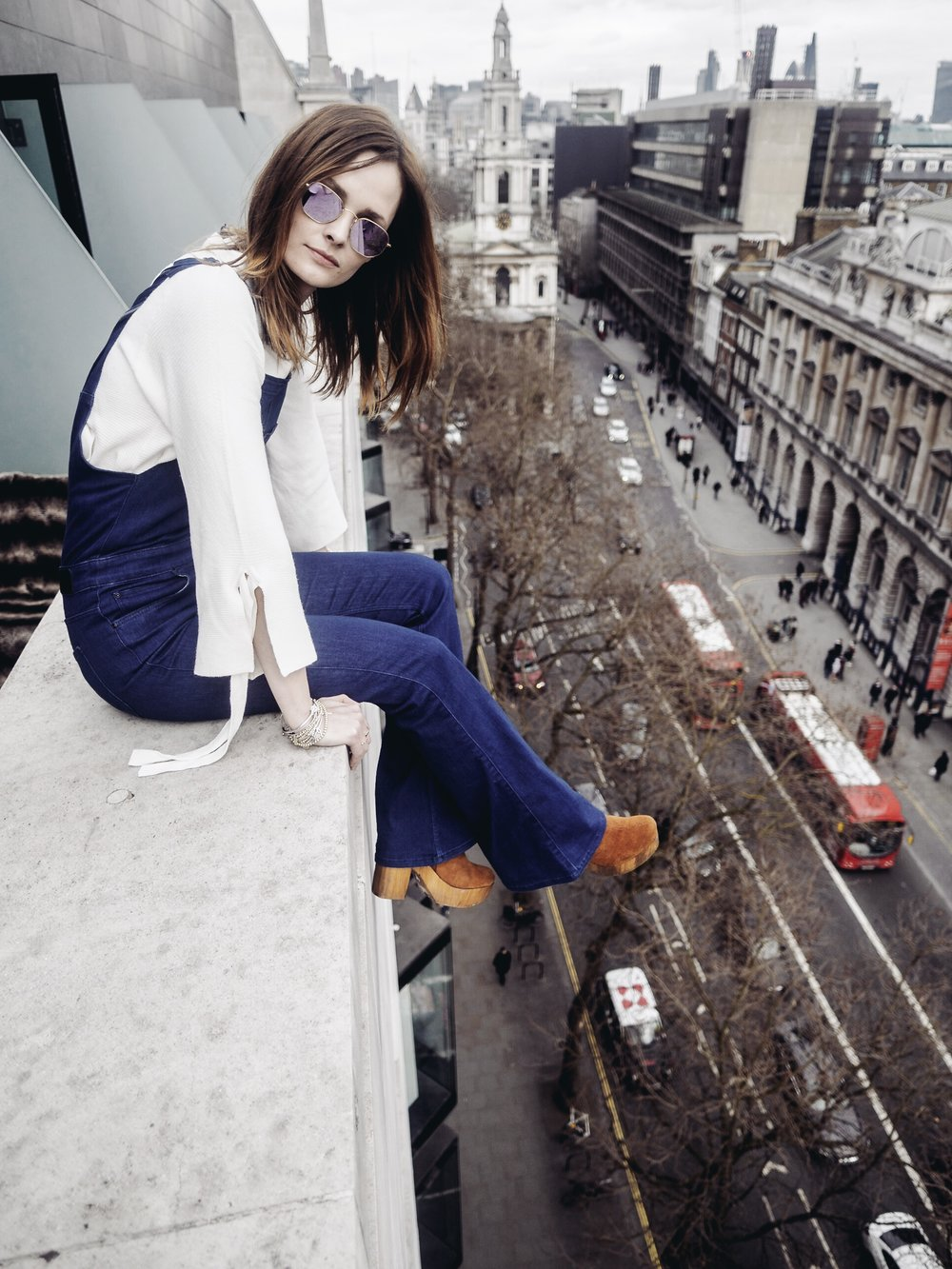 Olympus PEN 12mm f/2.0 Lens Wide Angle Charlotte de Carle Me London Hotel Fashion Week LFW Don't Look Down Balcony Heights
