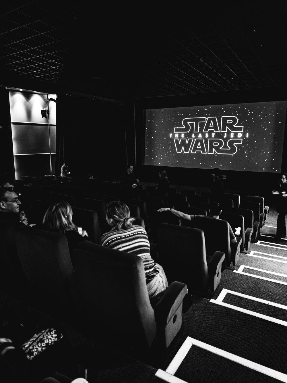 Pinewood Studios Star Wars The Last Jedi Screening Review Movie