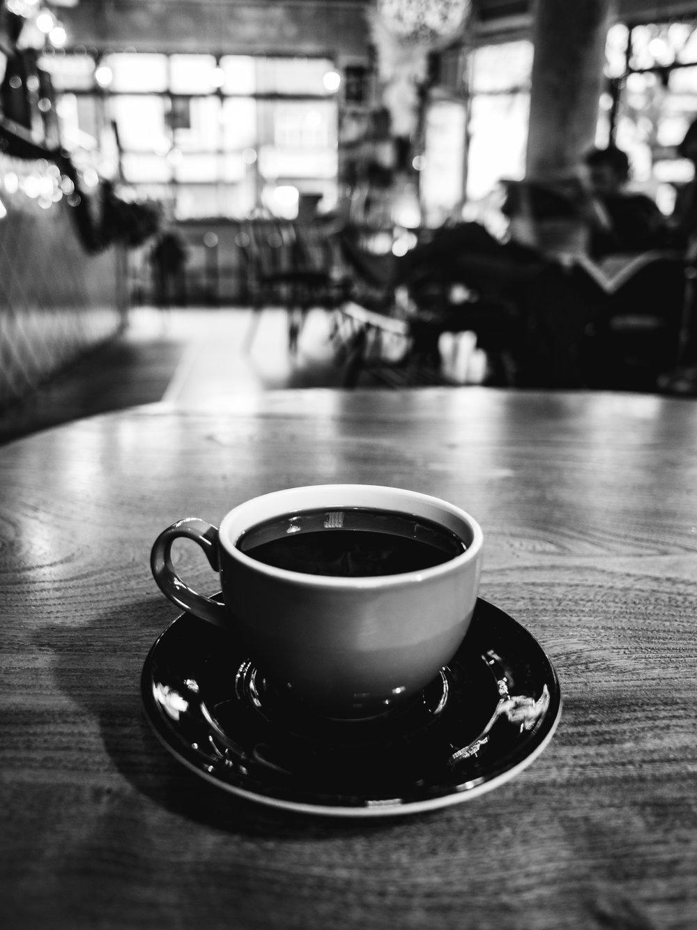 Coffee Filter Black Cafe Shop