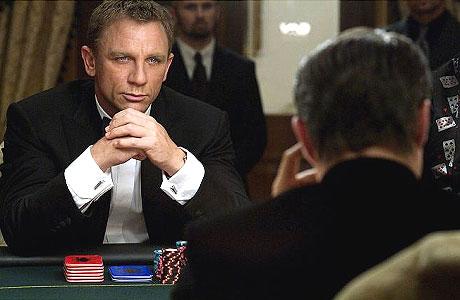 James Bond Style Icon 007 Poker Casino Royale Daniel Craig