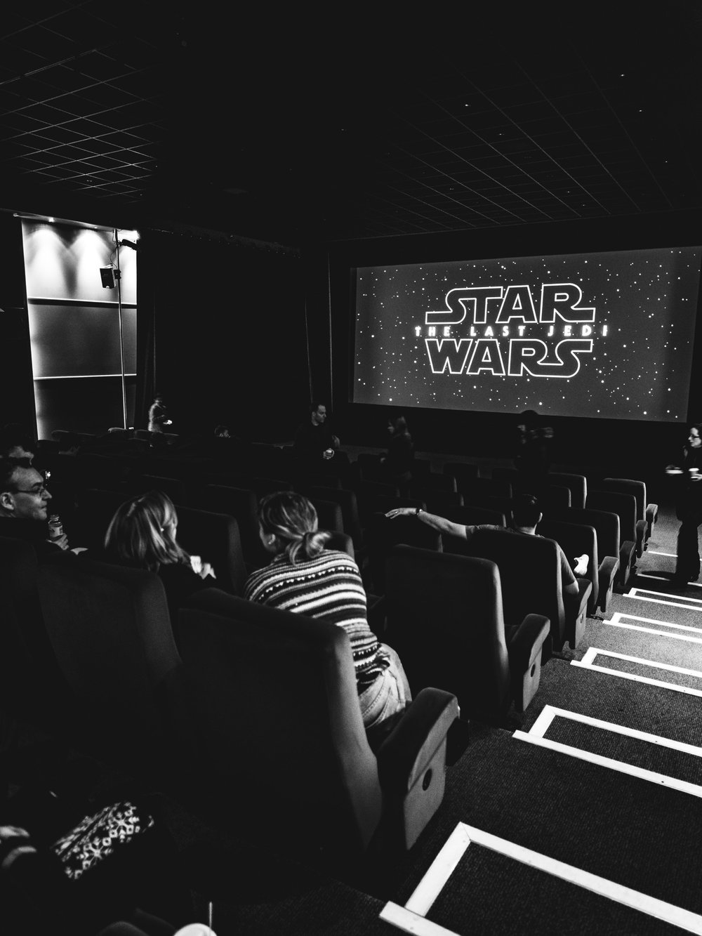 Went to see Star Wars 'The Last Jedi' at Pinewood Studios!