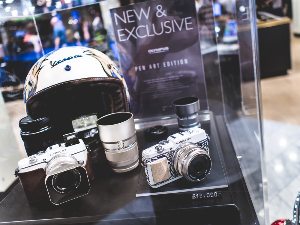 Olympus PEN Art Edition Harrods Suzko Jay McLaughlin E-P5