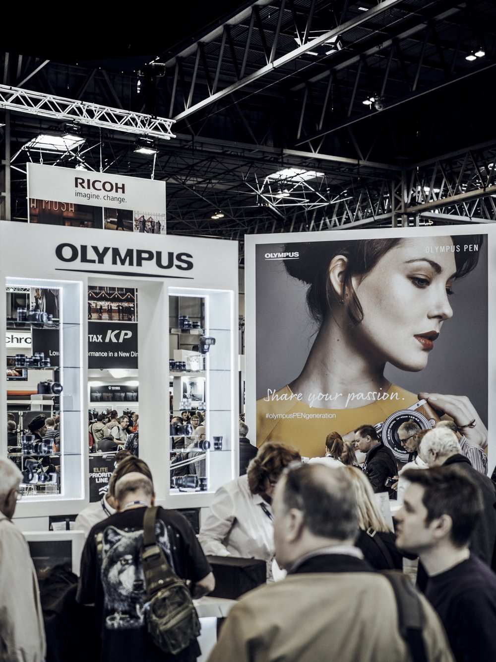 Olympus PEN E-PL8 Fashion Accessories Campaign Photoshoot Martine Lervik NEC The Photography Show TPS Exhibition