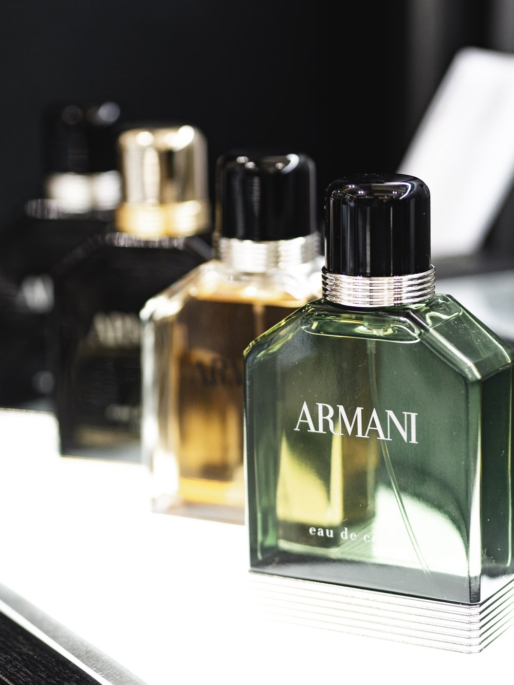 Heathrow Airport World Duty Free Fragrance Armani