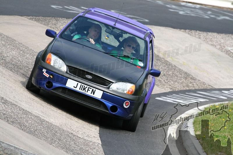Ford Fiesta Nürburgring Jay McLaughlin Puma Engine Karussel Zetec