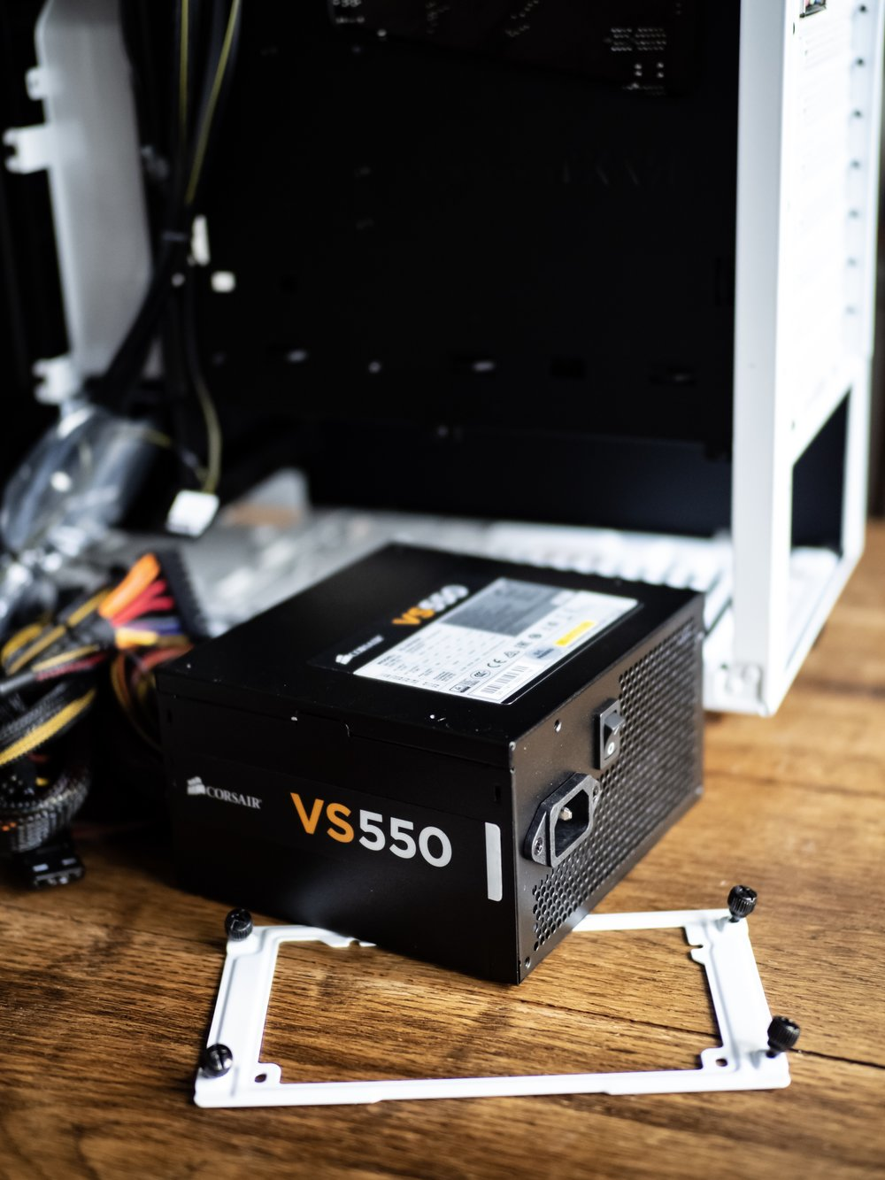Gaming PC Build Corsair VS550 PSU Power Supply Unit