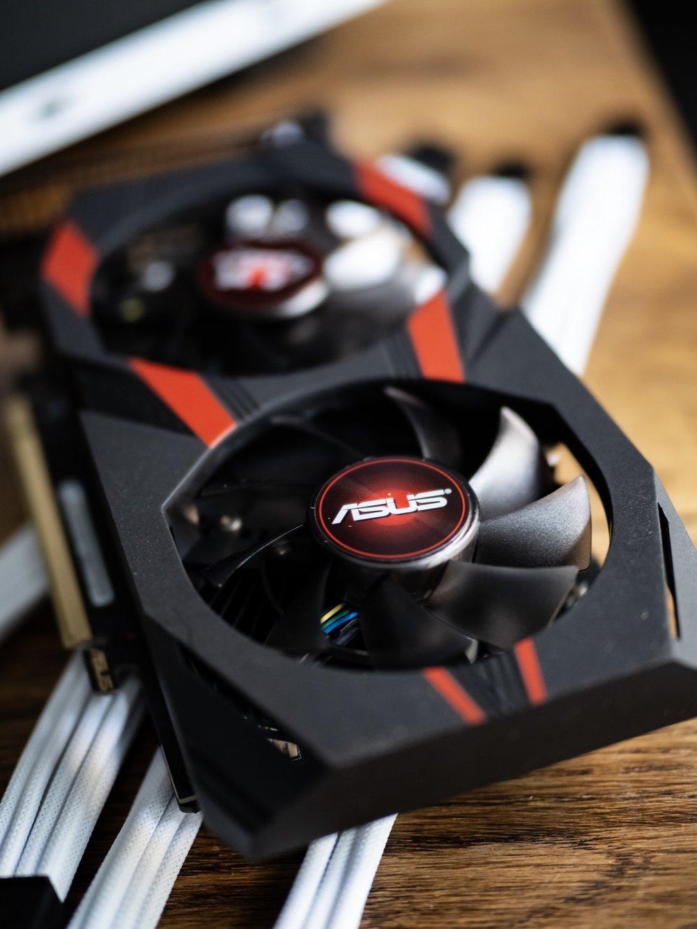 Gaming PC Build Asus Cerberus Nvidia GTX GeForce 1050Ti GPU Graphics Card