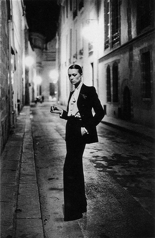 Helmut Newton Inspiration Le Smoking