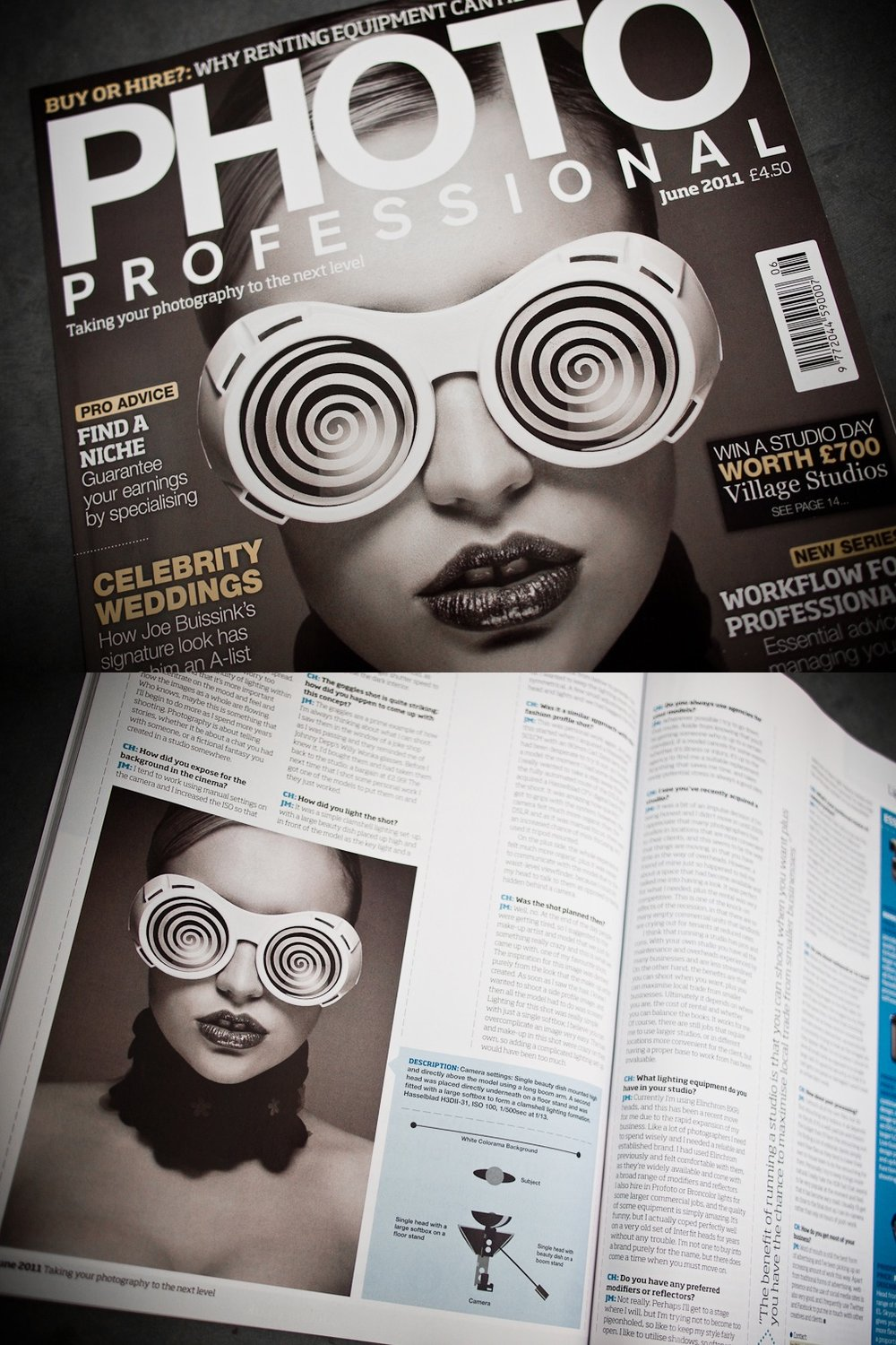 Photo Professional Magazine June 2011 Cover Jay McLaughlin Feature Article Interview