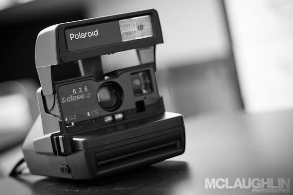 Polaroid 636 Closeup Camera Vintage Instant