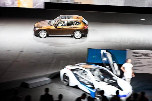 Motorshow BMW Panning Motion Car Show