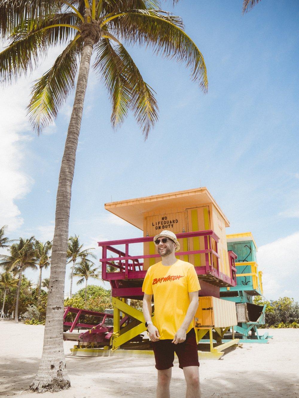 Jay McLaughlin Miami USA Beach Baywatch