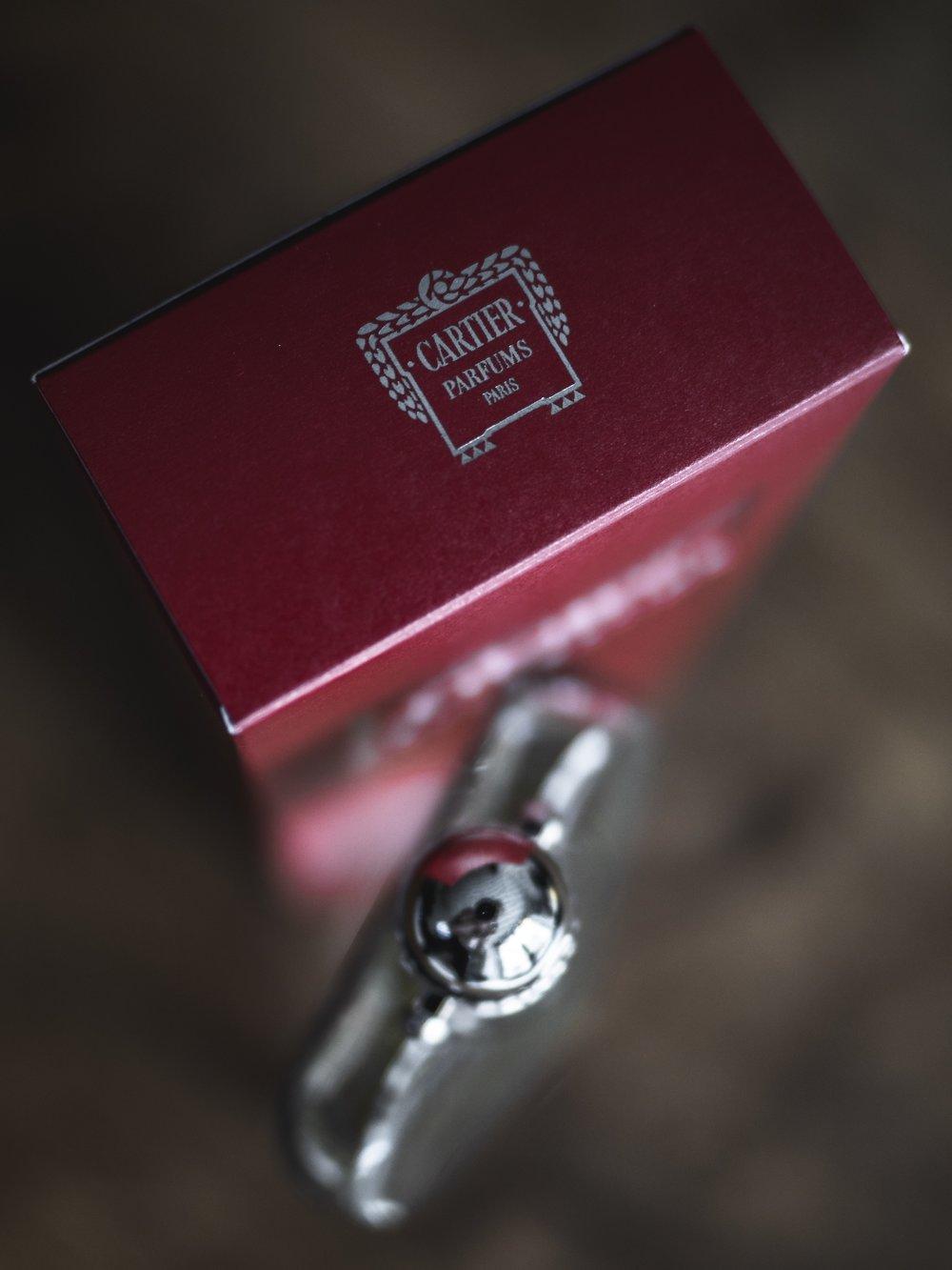 Cartier Declaration pour homme fragrance review Déclaration Logo Seal Presentation