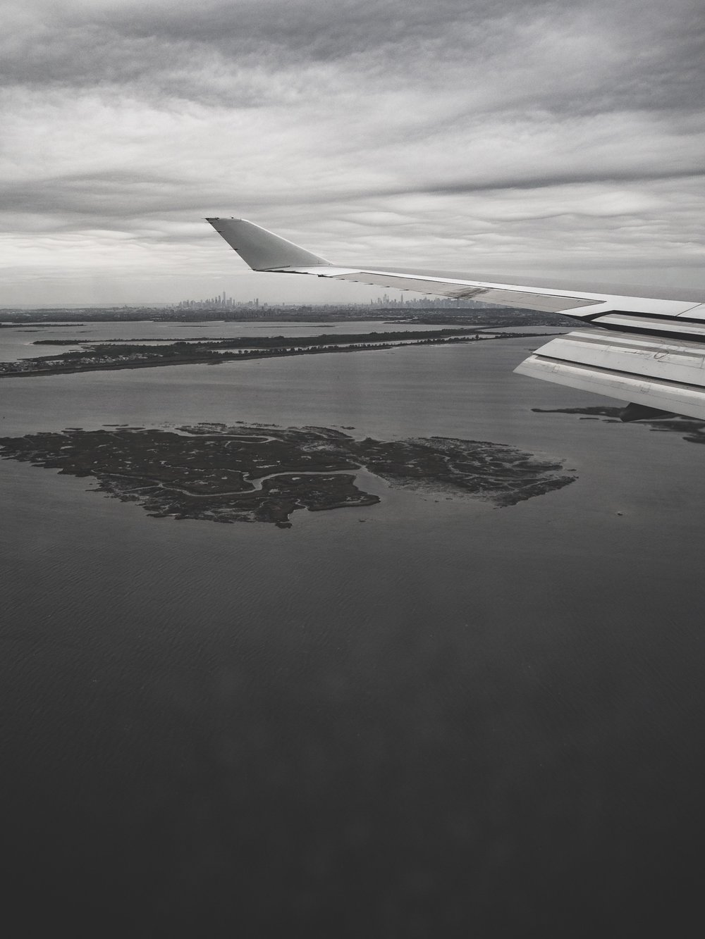 Descent into New York JFK