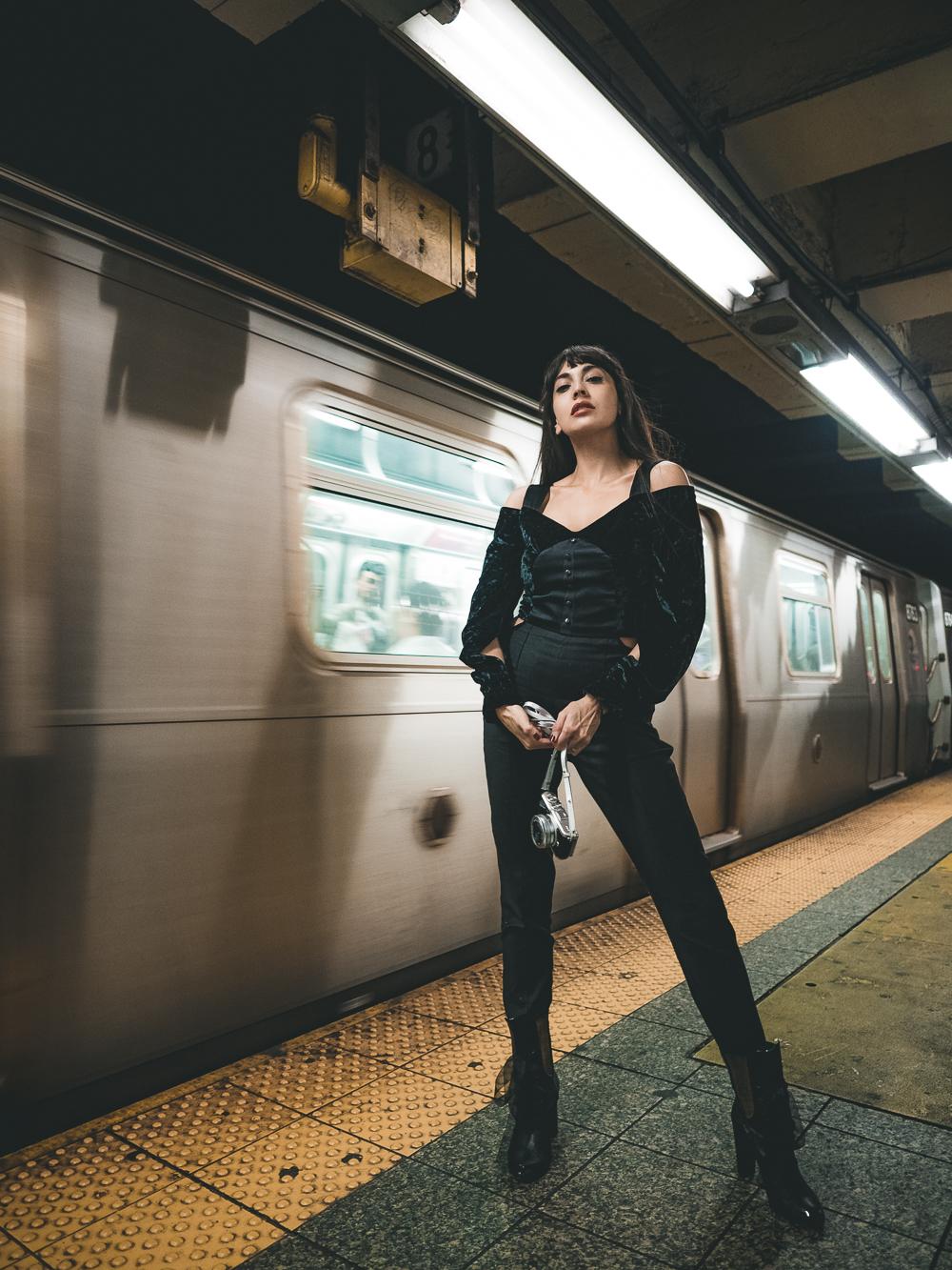 Zara Martin New York Subway