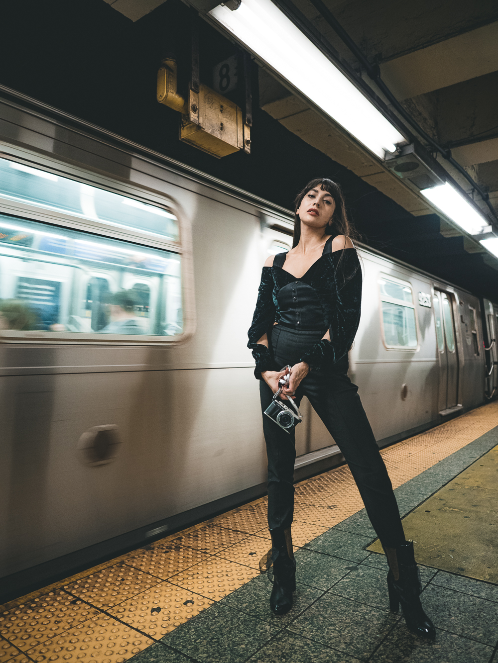 Zara Martin New York Subway