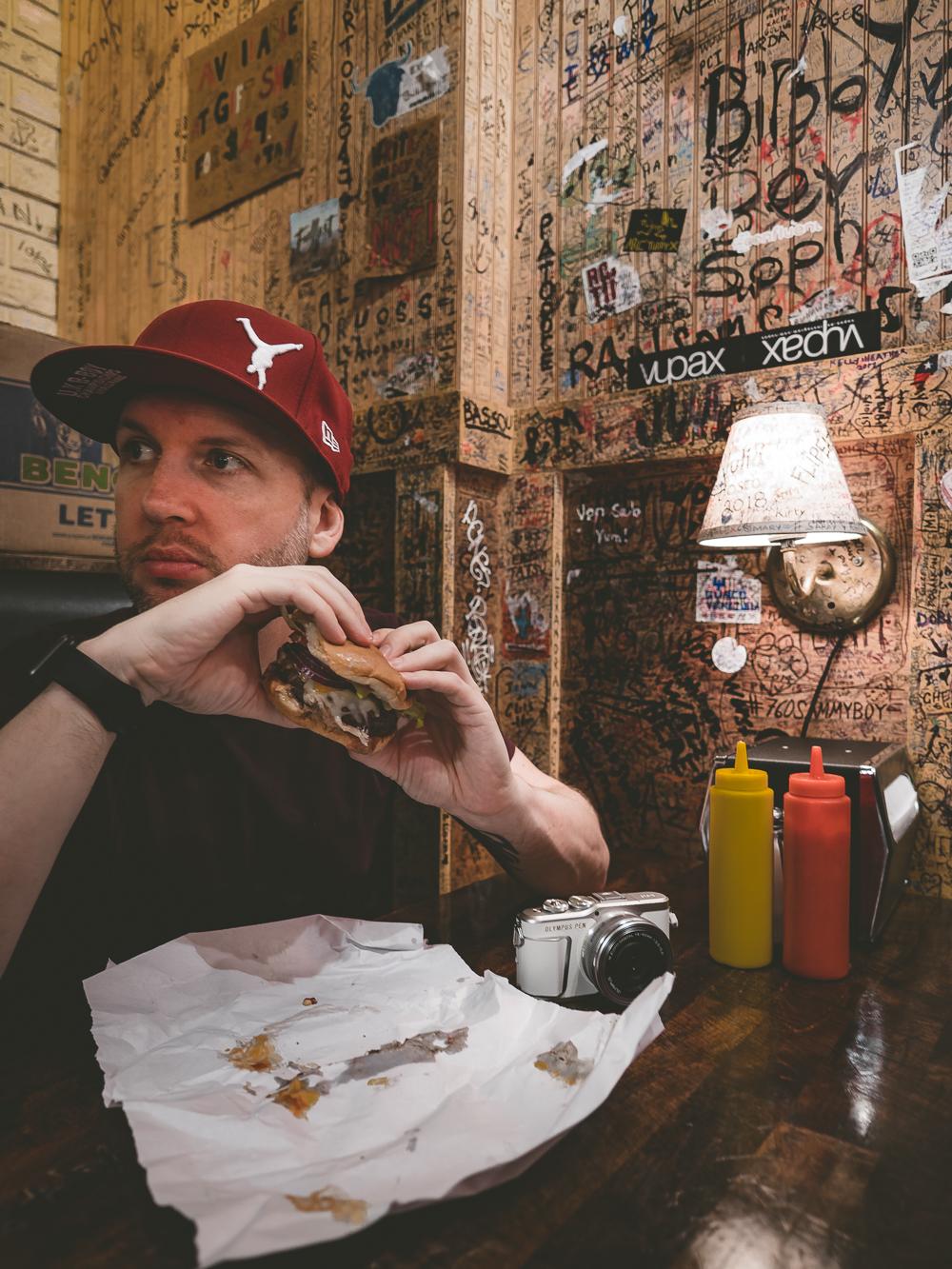 Burger Joint NYC Jay McLaughlin
