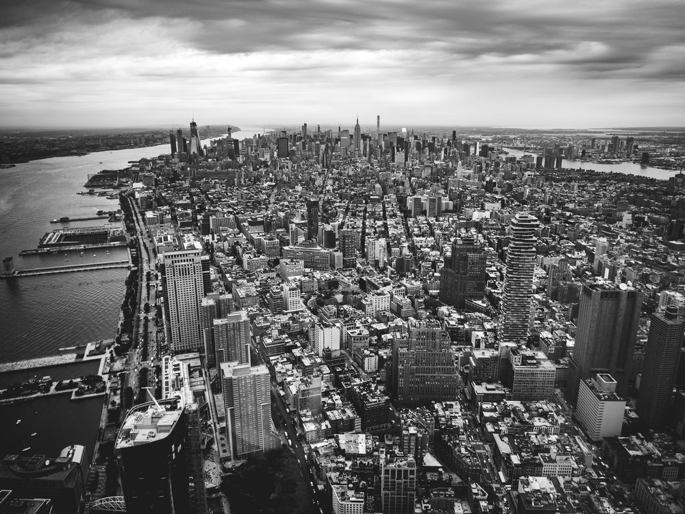 New York from the Freedom Tower