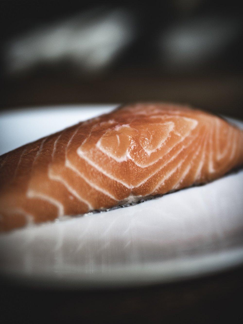 Carnivore Diet Zero Carb Keto Ketogenic Salmon